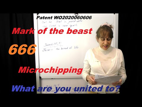Patent WO2020060606 by Microsoft, 666 Mark of the Beast, Microchips and Union