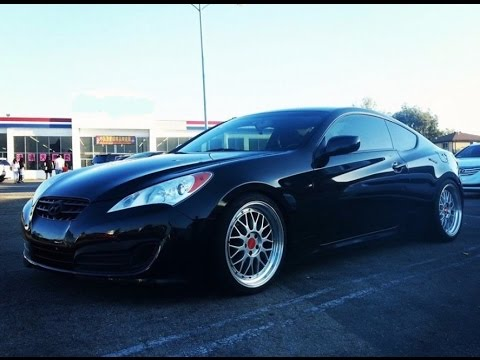 Modified Hyundai Genesis Coupe 2.0T One Take