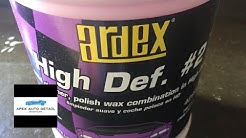 A solid One Step Cleaner/Polish/Wax: Ardex High Def #2