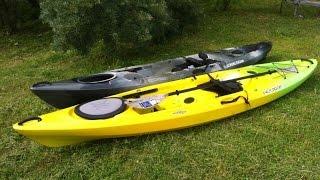 Видеообзор Pescador 12.0(Видеообзор каяков Pescador 12.0. Стандартная и рыболовная комплектация., 2015-07-25T12:28:11.000Z)