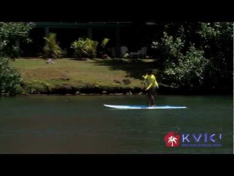 Stand-Up Paddling Spotlight - Hawaiian Surfing Adventures - KVIC-TV, myKauai.com [Activity]