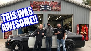 Veterans Reactions to 850hp Caprice Cop Car! Ride Alongs Ep. 1!