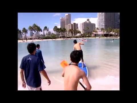 Children from tsunami-ravaged Japan enjoy time in Hawaii
