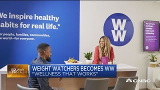 Weight Watchers CEO on changing names and marketing healthy living