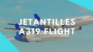 [ROBLOX] jetAntilles A319 Flight