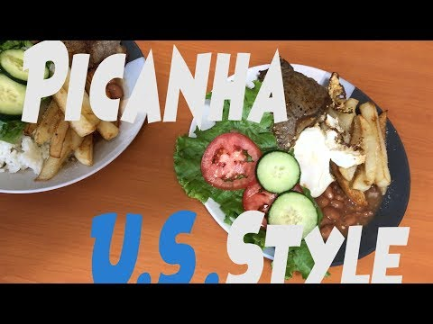 Reaction! American Tries Brazilian Food Picanha