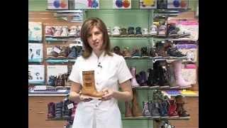 видео Ортопедическая обувь для малышей, правила выбора