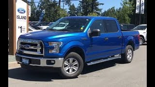 2015 Ford F-150 XLT W/ Running Boards, Satellite, Lined Box Review| Island Ford