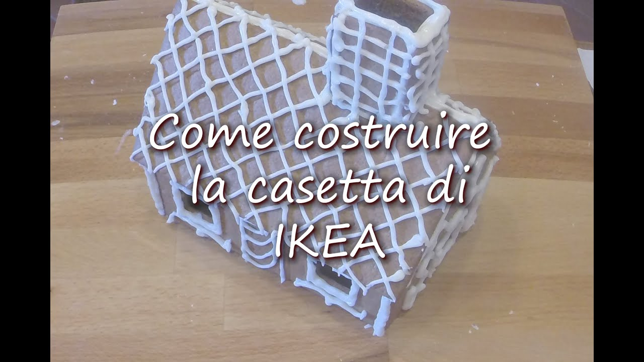 Casetta Di Natale Ikea : Come costruire la casetta di pan di zenzero di ikea youtube