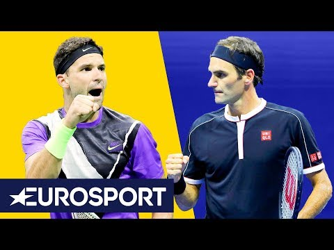 Roger Federer vs Grigor Dimitrov Highlights | US Open 2019 | Eurosport