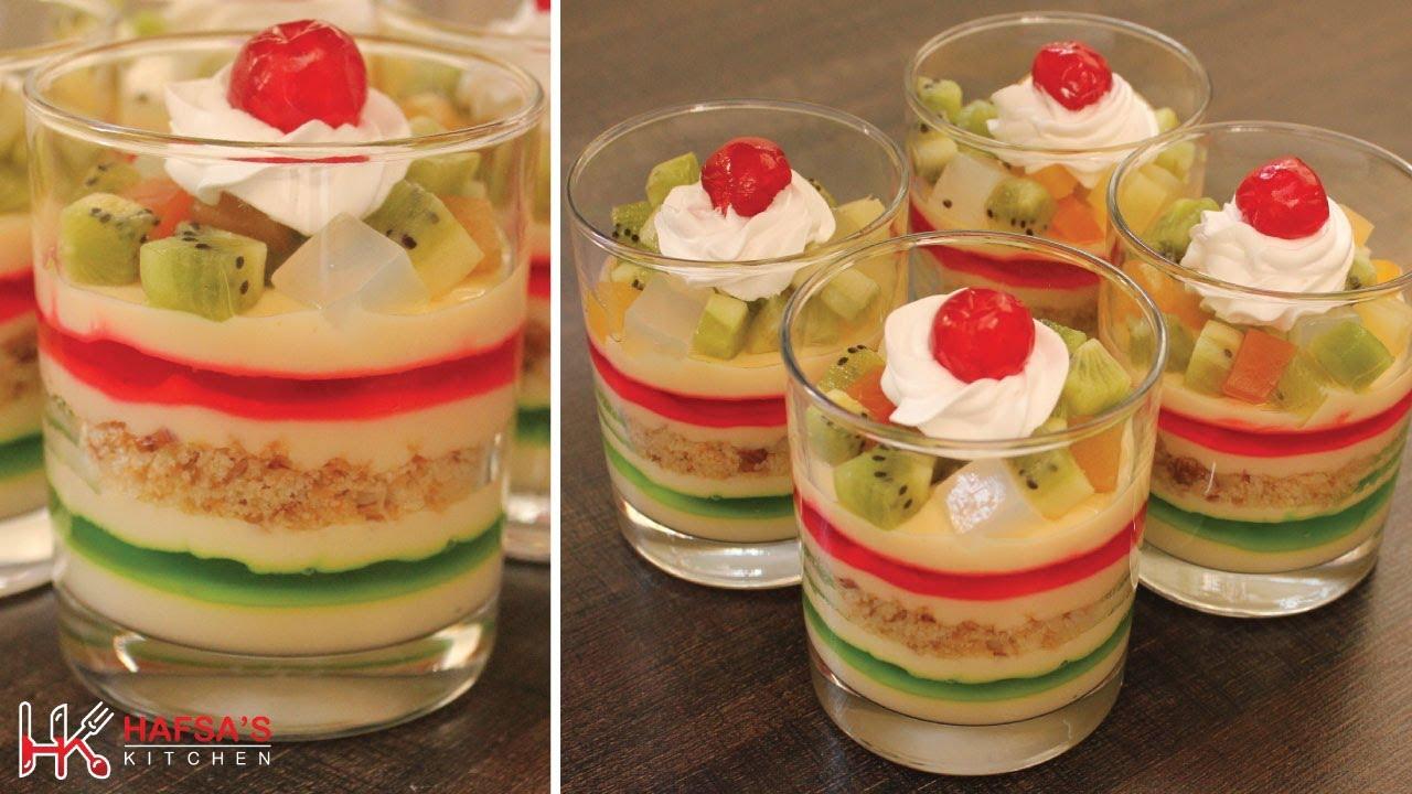 Custard Trifle Custard Fruit Trifle Recipe Jelly Custard