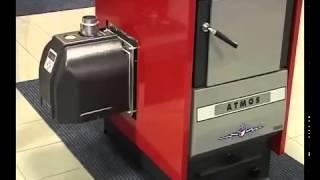 Установка пеллетной горелки на котел Atmos(Установка пеллетной горелки на котел Atmos - английский язык., 2014-10-01T10:25:55.000Z)