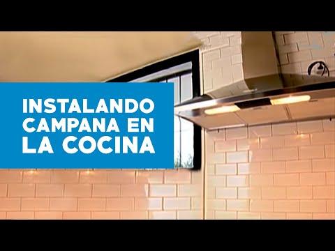C Mo Instalar Una Campana En La Cocina Youtube