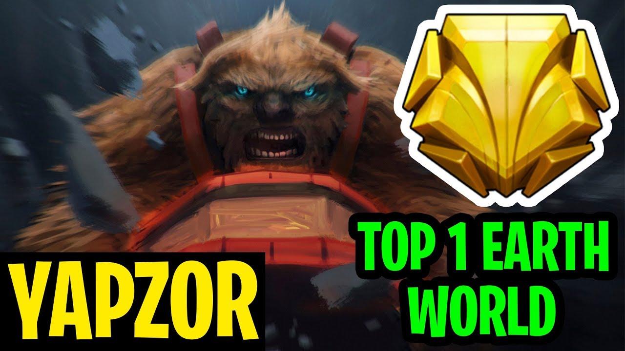How The World's Best EarthShaker Destroys The Game - Yapzor - Dota 2