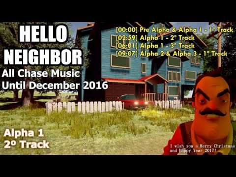 Hello Neighbor All Chase Music thumbnail