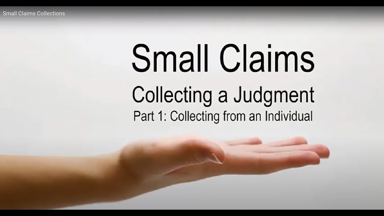 Small Claims Collections