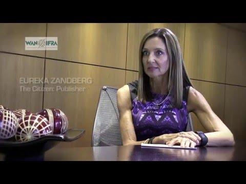 Digital Media Africa: Eureka Zandberg Publisher at the Citizen, South Africa