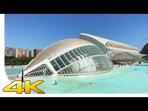 [4K] City of Arts and Sciences / Ciutat de les Arts i les Ciències - Valencia / Spain - Cinematic