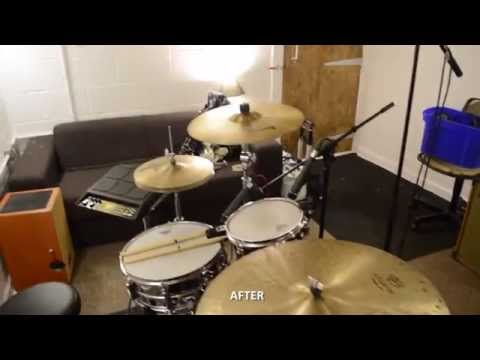 How to convert a garage into a soundproof drum room & studio
