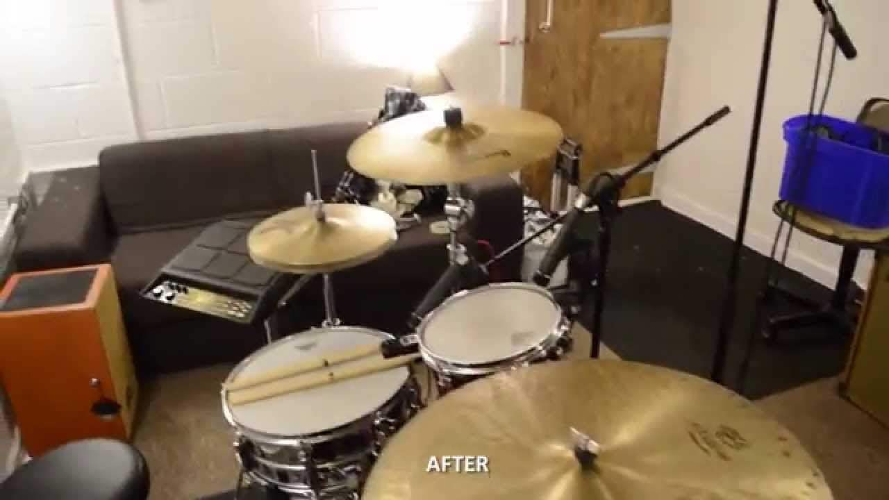 Delicieux How To Convert A Garage Into A Soundproof Drum Room U0026 Studio