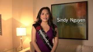 Sindy Nguyen - Miss World Canada 2014 Delegate