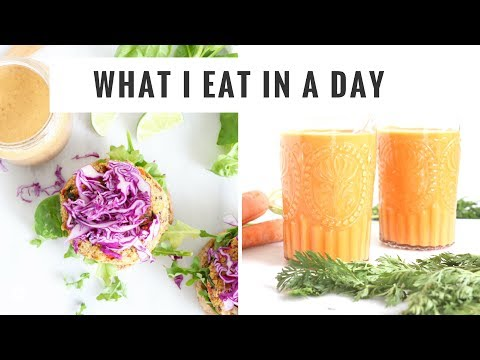 WHAT I EAT IN A DAY #8 | Quick, Healthy Meals & Snacks | Healthy Grocery Girl