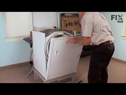 Amana Dryer Repair – How to replace the Drum Support Roller