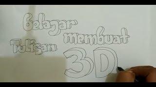 Download Video Belajar Membuat Tulisan 3D Dengan Mudah MP3 3GP MP4