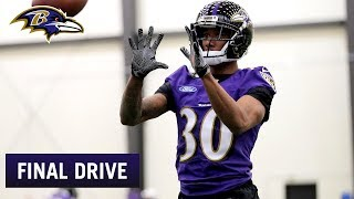 Marcus Peters Starts Getting Up to Speed | Ravens Final Drive