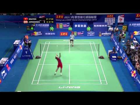 Longest rally in badminton history (Men´s singles)