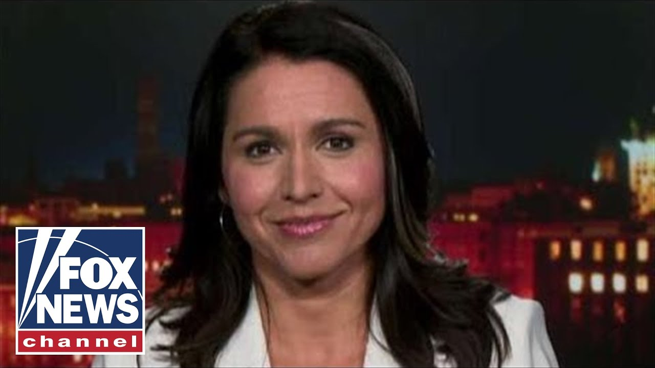 Gabbard reacts to being attacked by CNN, New York Times