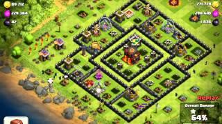 Clash of Clans Raid (888K resources)