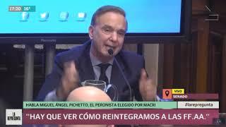 Macri-Pichetto: Conferencia completa de Miguel Pichetto, candidato a vice de Cambiemos