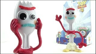 TOY STORY 4  True Talkers Forky Toy Review | Votesaxon07