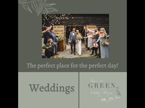 Outdoor Wedding Venues NI - Green Holiday Cottages - Tel +44 7860951841