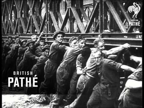 The Man Behind The Bailey Bridge 1945 Youtube