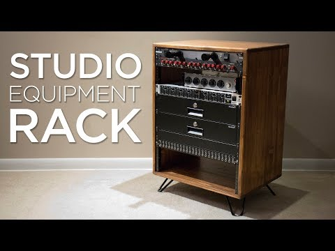 How To Build A Studio Equipment Rack