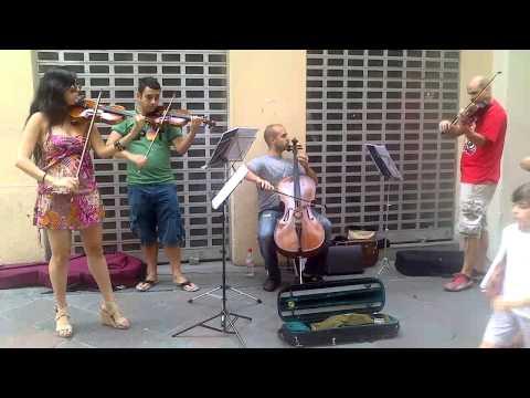 Musica clasica la calle Zacatin. Granada