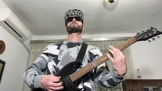 DNAD - Merge With The Real - Thrash Metal Punk Hard Core Guitar Freestyle (Music Video)