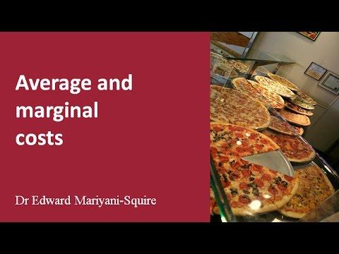 Marginal and average costs: short-run