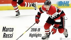 Marco Rossi | 2018-19 OHL Highlights | HD