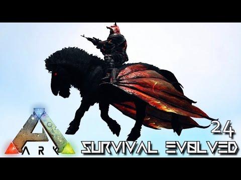 ARK: SURVIVAL EVOLVED - NEW PEGASUS NIGHTMARE FLYING HORSE !!! E24 (MODDED ARK PUGNACIA DINOS)