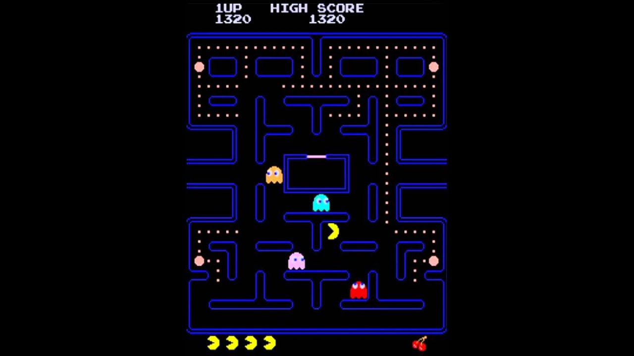 It is a graphic of Candid Pics of Pacman