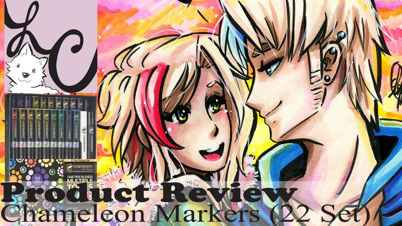 Art color markers - Art Supply Product Review Chameleon Color Tones 22 Pen Deluxe Set Markers Speed Paint Youtube