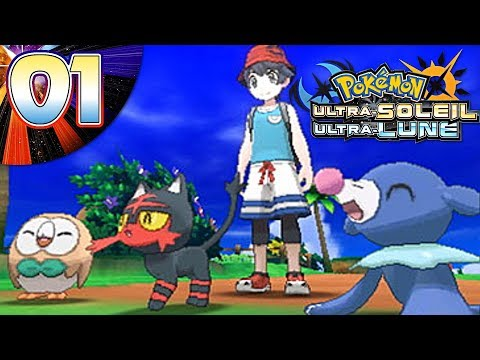 QUEL POKEMON CHOISIR ???-Let's play pokemon ultra soleil et