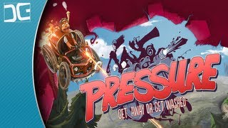 Pressure Gameplay - A Top-Down Steampunk Racing Shooter - Indie Game Spotlight