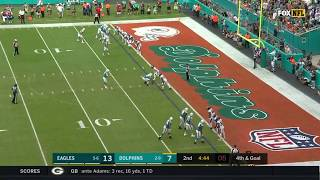 Dolphins Trick Play Touchdown Week 13| Eagles vs. Dolphins |