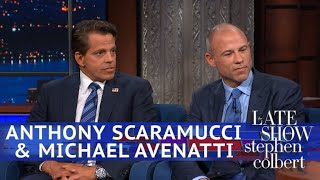 Anthony Scaramucci & Michael Avenatti Debate Over Rosé