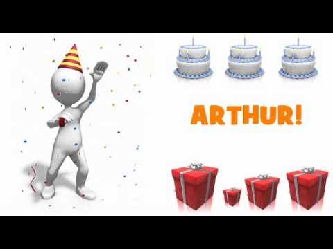 Joyeux Anniversaire Arthur Youtube