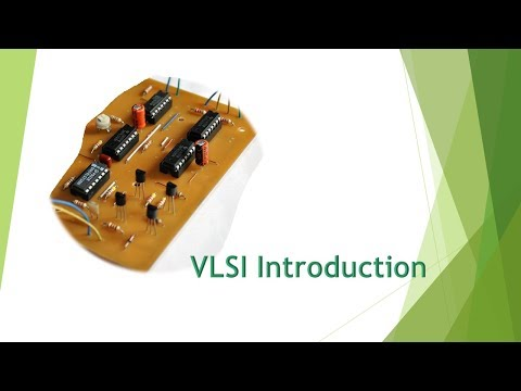 Introduction to VLSI and System Design